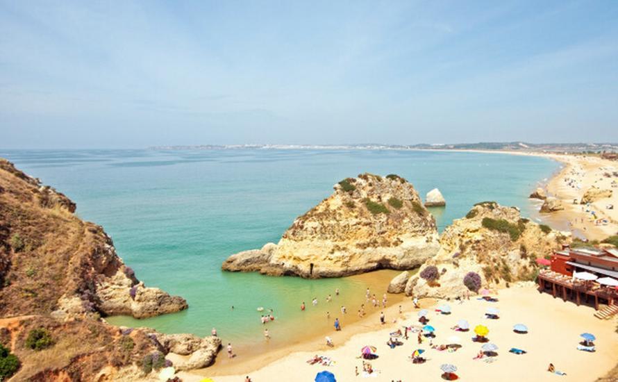 Październikowe upały w Portugalii