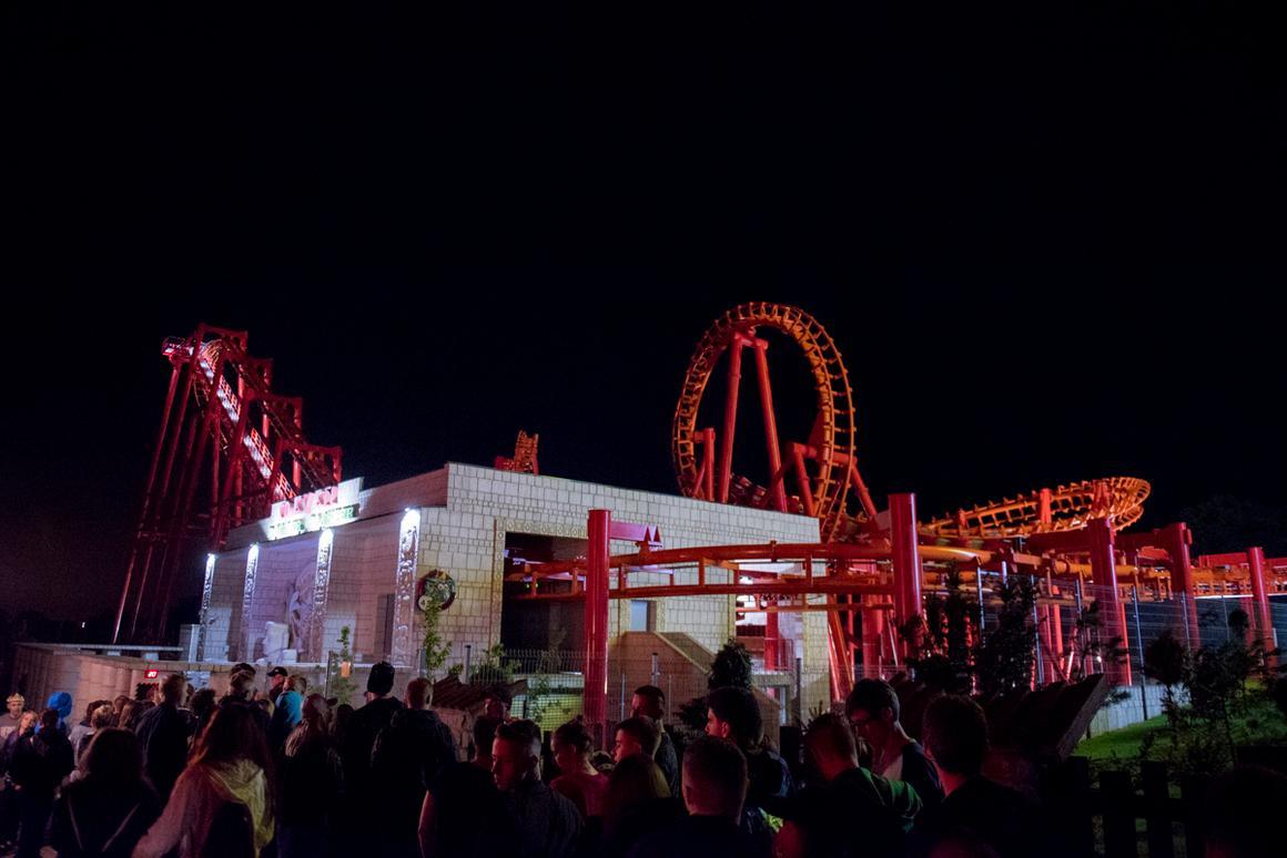 Park rozrywki Energylandia podczas festiwalu Energyland EDM