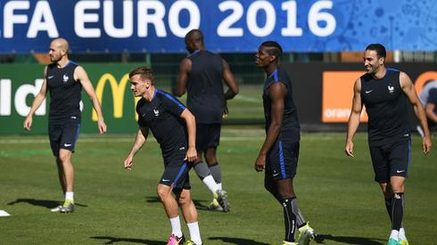 Reprezentacja Francji (fot. AFP)
