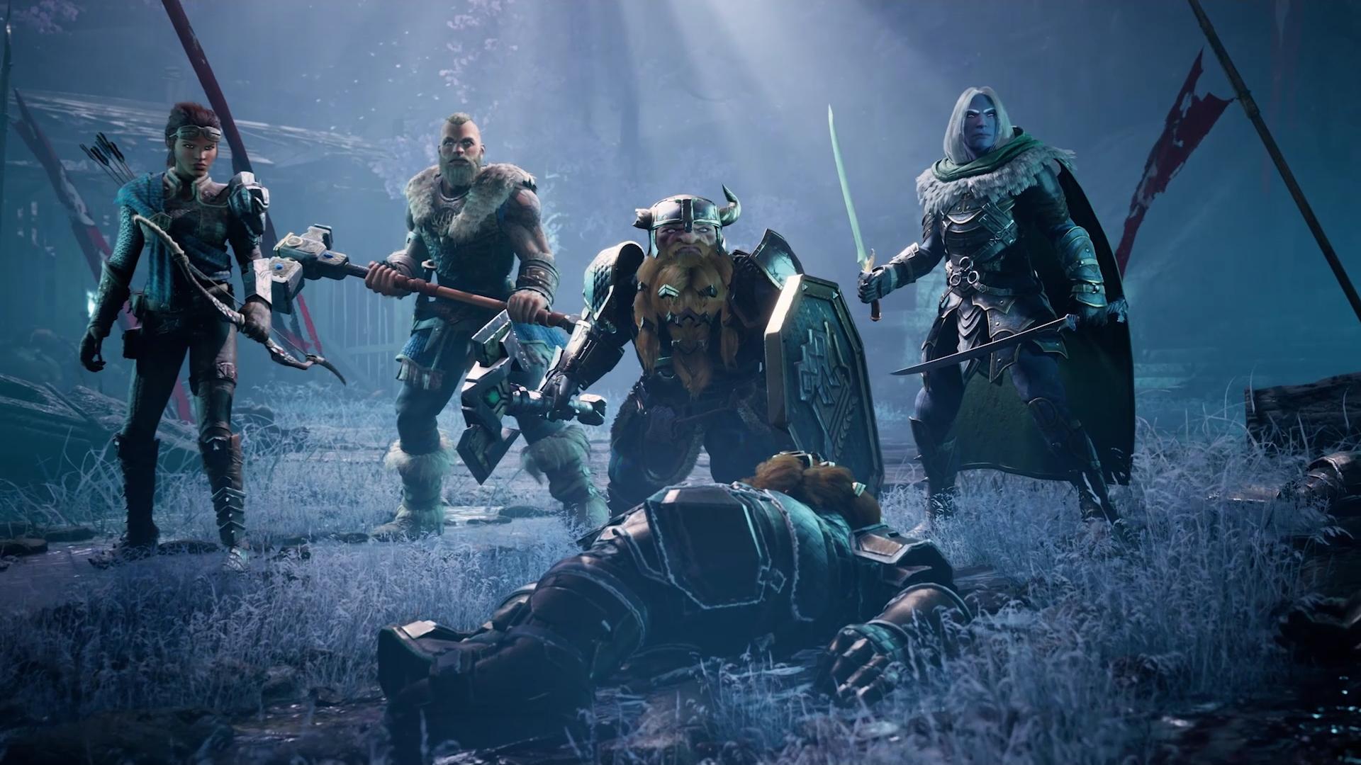 Do pútavej krajiny Icewind Dale vstúpime ako štvorica hrdinov známych z knižných predlôh.