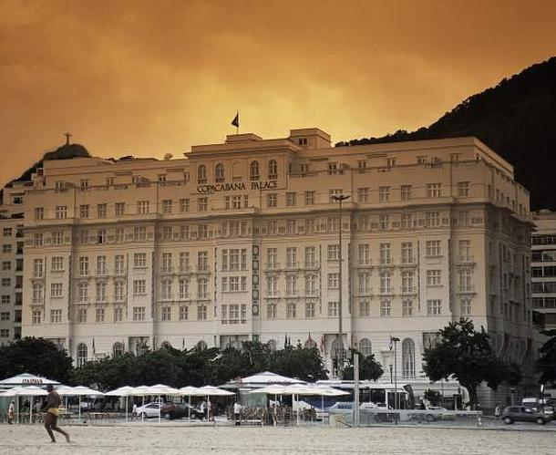 Copacabana Palace - ulubiony hotel Mario Testino