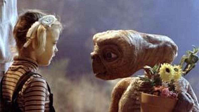 "Kadr z filmu ""E.T."""