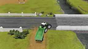 "Półnagi ""farmer"" reklamuje ""Farming Simulator 2012 3D"""