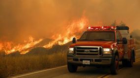 Wielkie pożary lasów w pobliżu Los Angeles