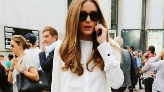 Ubierz się jak Olivia Palermo: klasyczne dżinsy + biały top