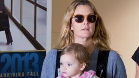 Drew Barrymore pokazała się z córeczką