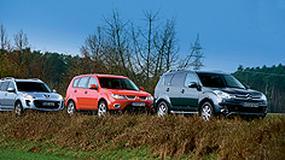 Citroen C-Crosser, Mitsubishi Outlander i Peugeot 4007 - Trójka z jednej stajni