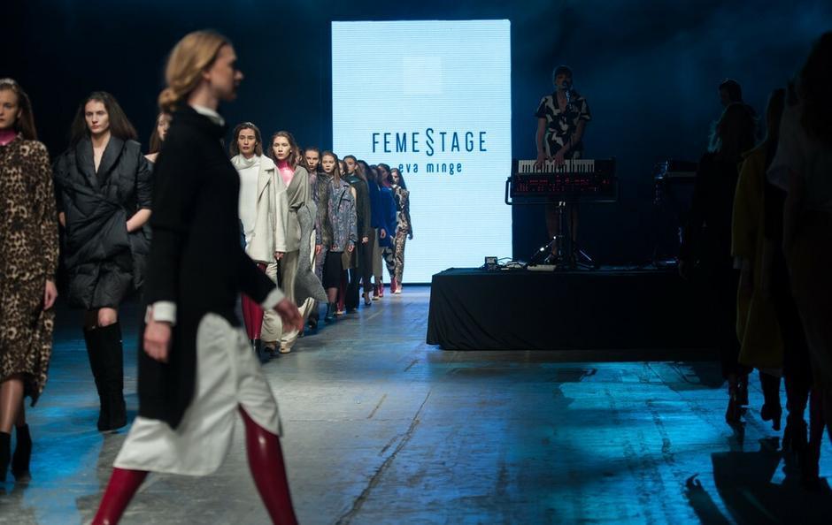 Pokaz mody Ewy Minge podczas Fashion Weeka w Łodzi, kwiecień 2016