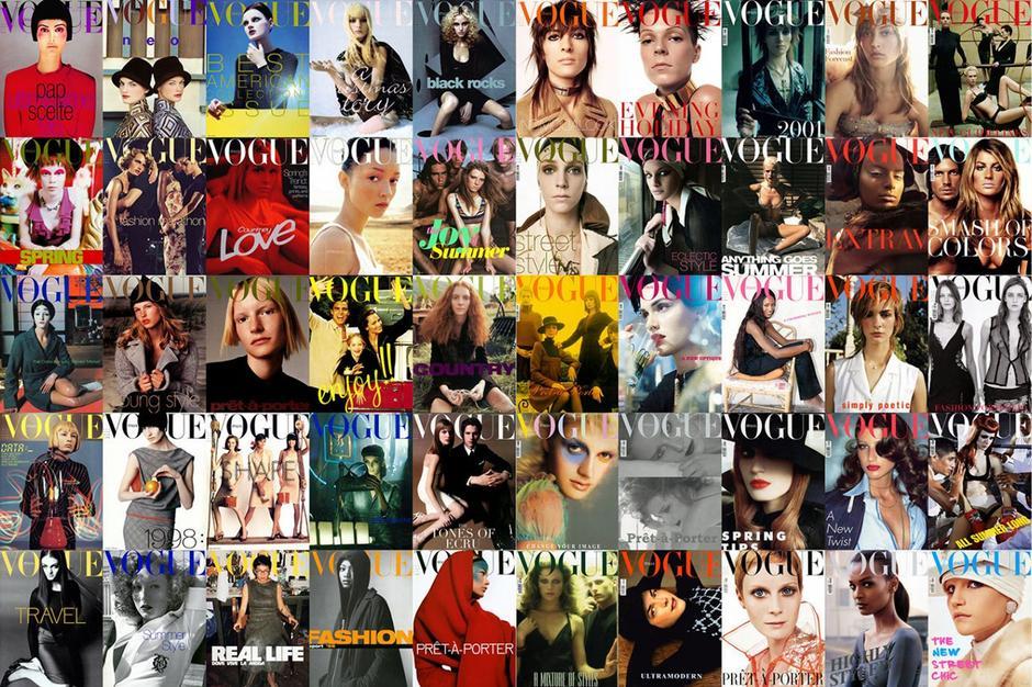 Okładki Vogue Italia autorstwa Stevena Meisela