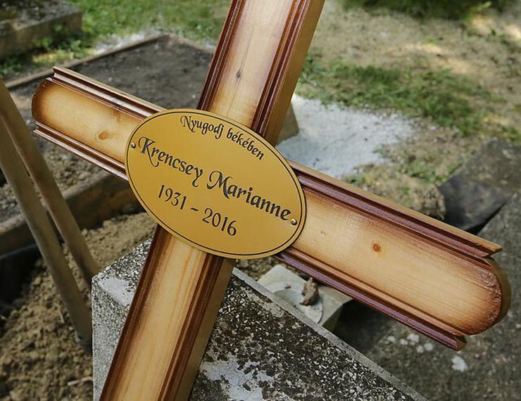 Eltemették a Liliomfi hősnőjét Krencsey Marianne-t!