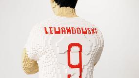 Zbudowano Roberta Lewandowskiego z… klocków Lego