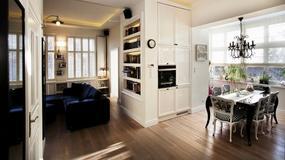 50-metrowe mieszkanie w klimacie starego Sopotu - inspirowane stylem francuskim w najlepszym wydaniu