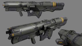 Doom - piękne szkice koncepcyjne broni