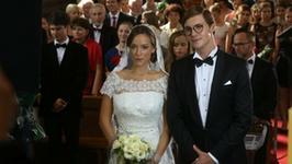 """""""7 rzeczy"""": Alicja Bachleda-Curuś w sukni ślubnej na planie filmu"""