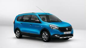 Dacia Dokker i Lodgy teraz w wersji Stepway