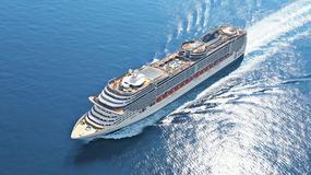 MSC Preziosa - luksusowy statek wycieczkowy; miał być własnością Kaddafiego