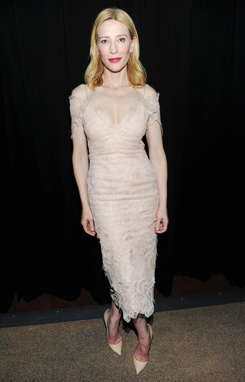 Cate Blanchett w sukni Armani Prive / Getty Images/Flash Press Media