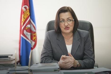 Ministarka poljoprivrede Snežana Bogosavljević Bošković