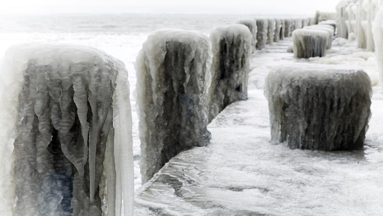 Így dermed jégbe hétévégén és a jövő héten a Balaton és az egész ország is / fotó: Nortfotó