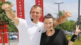 Ciężarna Katarzyna Kępka trenuje z partnerem