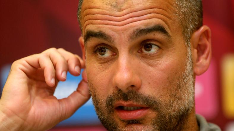 Megbánta korai bejelentését Guardiola /Fotó: AFP