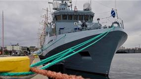 ORP Kormoran - nowy okręt Marynarki Wojennej oficjalnie zaczyna dziś służbę