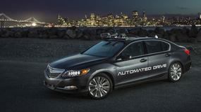 Acura prezentuje swój autonomiczny samochód