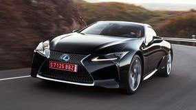 Czy nowy, sportowy Lexus LC F będzie hybrydą?