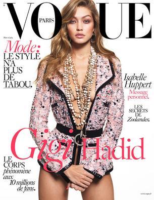 """Gigi Hadid trafiła na okładkę Vogue Paris"""""""