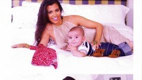 Kardashian chwali się ślicznym synkiem