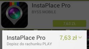 Opłatę za aplikację Play umieści w rachunku telefonicznym