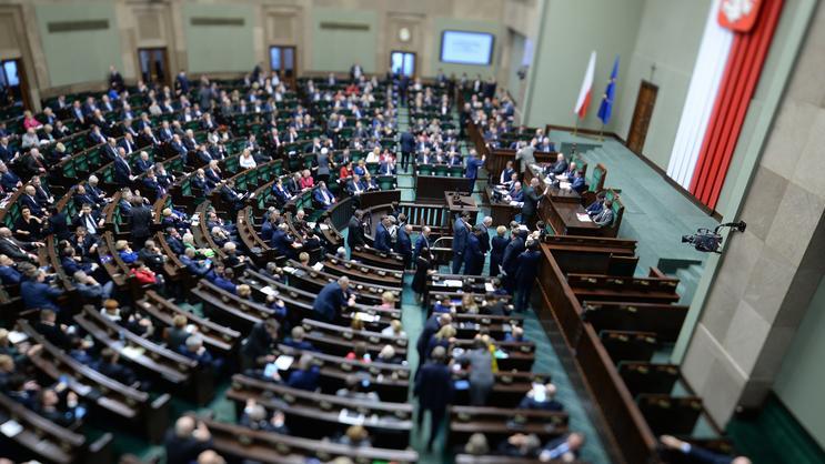 """Nietypowy incydent po głosowaniu w Sejmie. """"Czego się boicie?"""""""