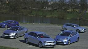 Opel Ampera kontra Kia Optima, VW Jetta i Toyota Prius: która hybryda jest najlepsza?
