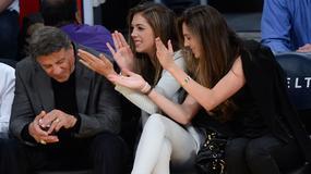 Sylvester Stallone pokazał się w towarzystwie pięknych córek