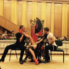 Justyna Steczkowska - zobaczcie, jak  przeobraża się w cygańską femme fatale!