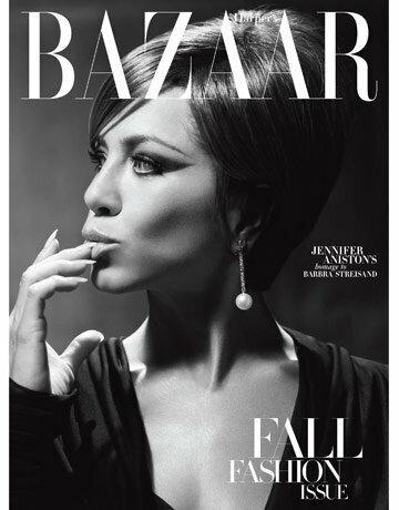 Okładka Harper's Bazar z Jennifer Aniston