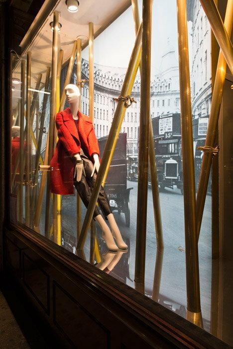 London Design Festival na Regent Street, wystawa dla sklepu Hobbs  / Art Biznes