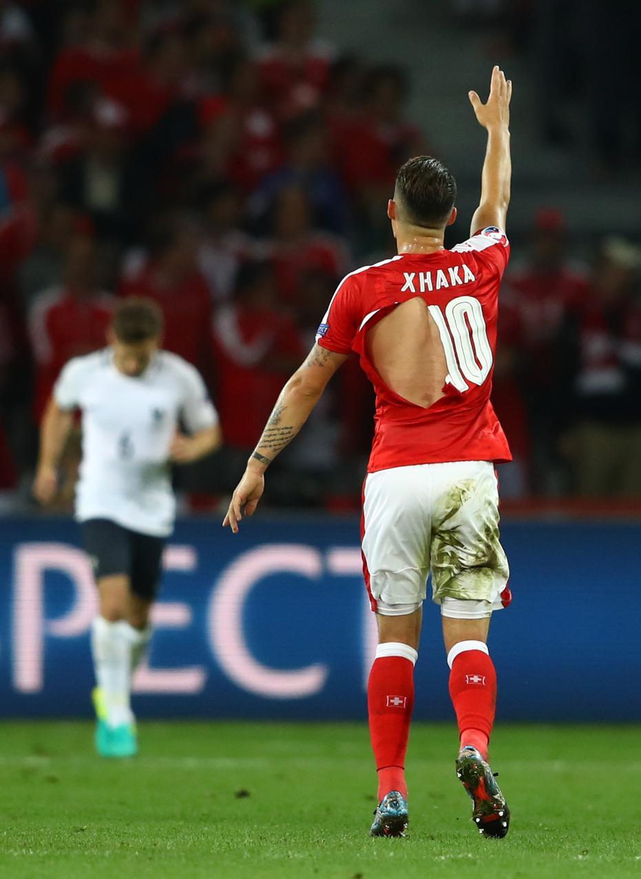 Mecz Francja-Szwajcaria