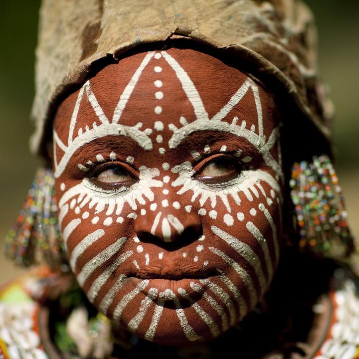 2009, Kikuyu Tribe nő, Kenya/ Fotó: NORTHFOTO