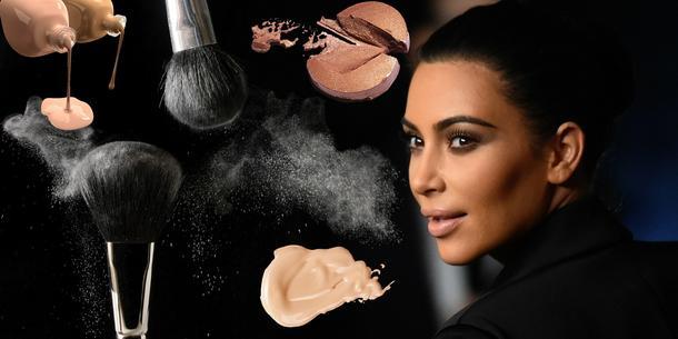 Kim Kardashian - mistrzyni konturowania