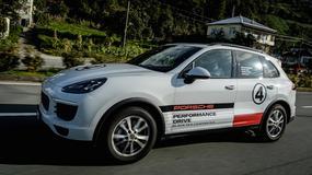 Porsche Cayenne na Kaukazie