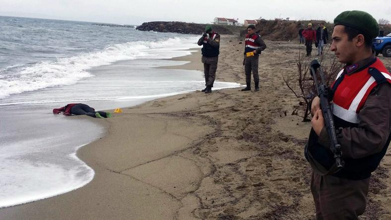 Az egyik áldozat/Fotó: MTI