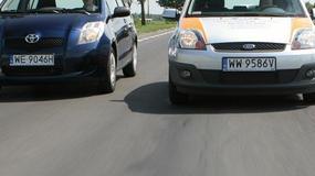 Ford Fiesta V kontra Skoda Fabia II i Toyota Yaris II: wielkość ma znaczenie