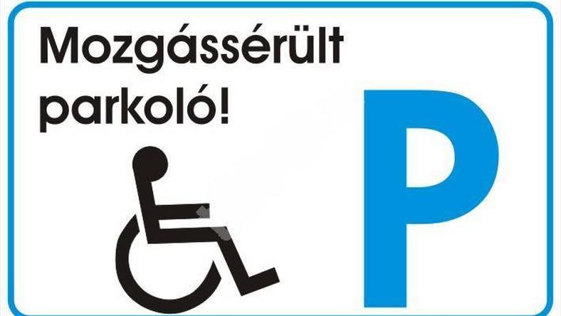 Magyarországon előszeretettel foglalják el a mozgássérült parkolót