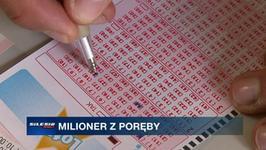 Nowy milioner w Porębie. Wzbogacił się o 2 miliony zł