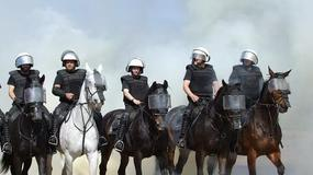 Policjanci na koniach