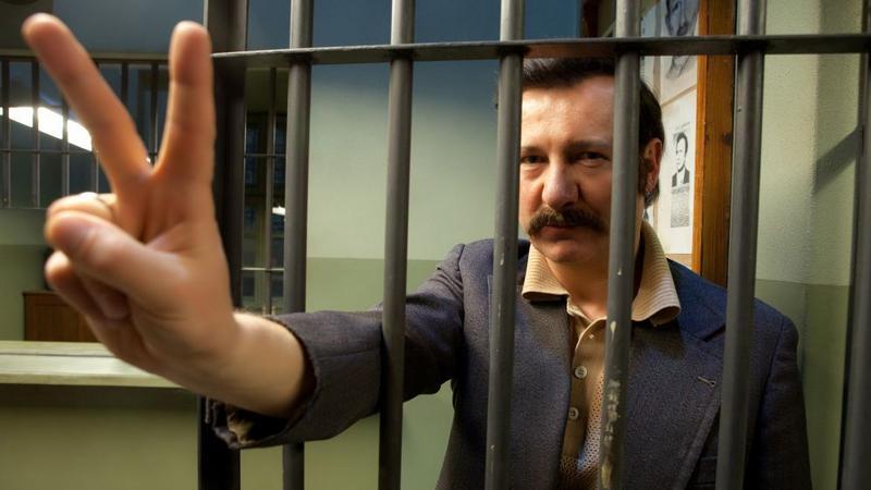 """Kadr z filmu """"Wałęsa. Człowiek z nadziei"""""""