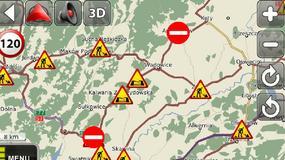 MapaMap 7.4 z informacjami o korkach