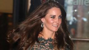 Księżna Kate w pięknej sukni na przyjęciu. Tę kreację już gdzieś widzieliśmy...
