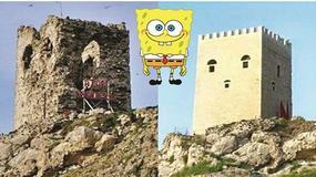 """Zamek w pobliżu Stambułu zmienił się w """"SpongeBoba"""" - reakcje internautów"""